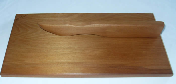 RIMU BOARD AND KNIFE $24 NZ  FOR CHEESES AND PATE